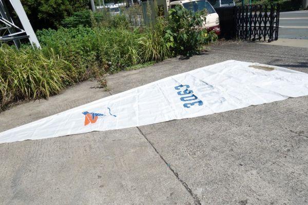 「静岡県/引取限定 427cm ヤマハ ヨット ディンギー YAMAHA 現状渡し」の画像3