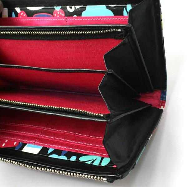 激レア!美品!ホコモモラ シビラ Jocomomola de Sybilla 二つ折り刺繍 長財布 ウォレット 200812bu05_画像5