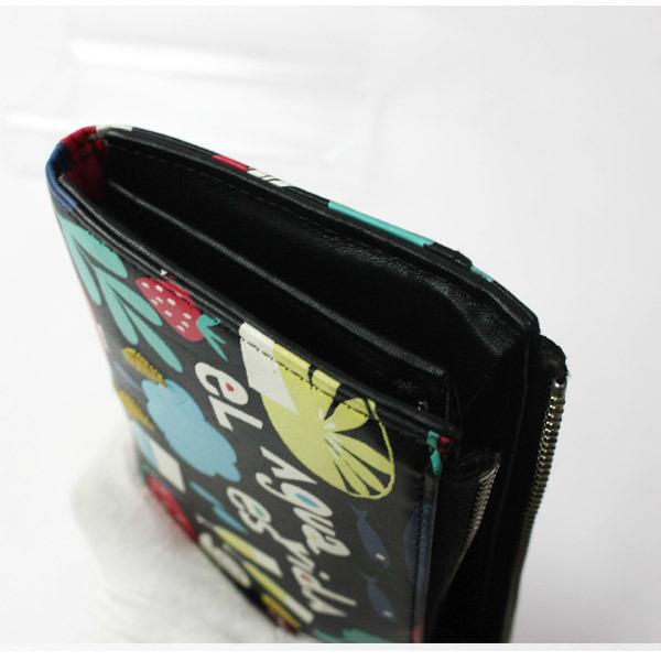 激レア!美品!ホコモモラ シビラ Jocomomola de Sybilla 二つ折り刺繍 長財布 ウォレット 200812bu05_画像3