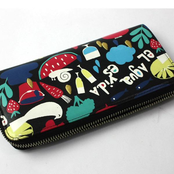 激レア!美品!ホコモモラ シビラ Jocomomola de Sybilla 二つ折り刺繍 長財布 ウォレット 200812bu05_画像4