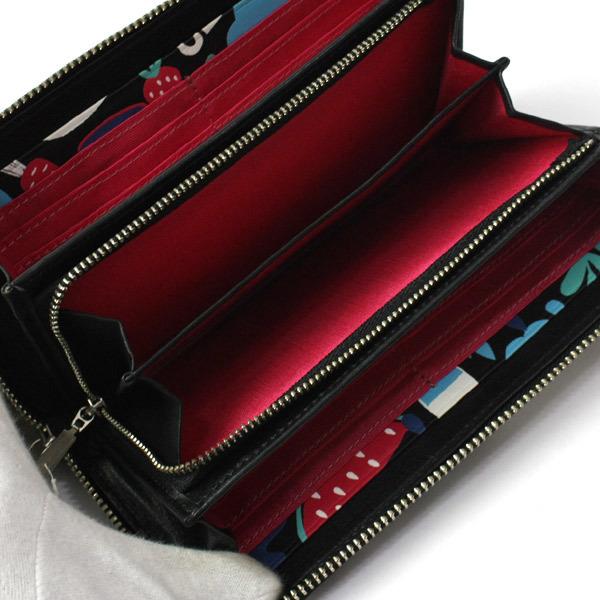 激レア!美品!ホコモモラ シビラ Jocomomola de Sybilla 二つ折り刺繍 長財布 ウォレット 200812bu05_画像2