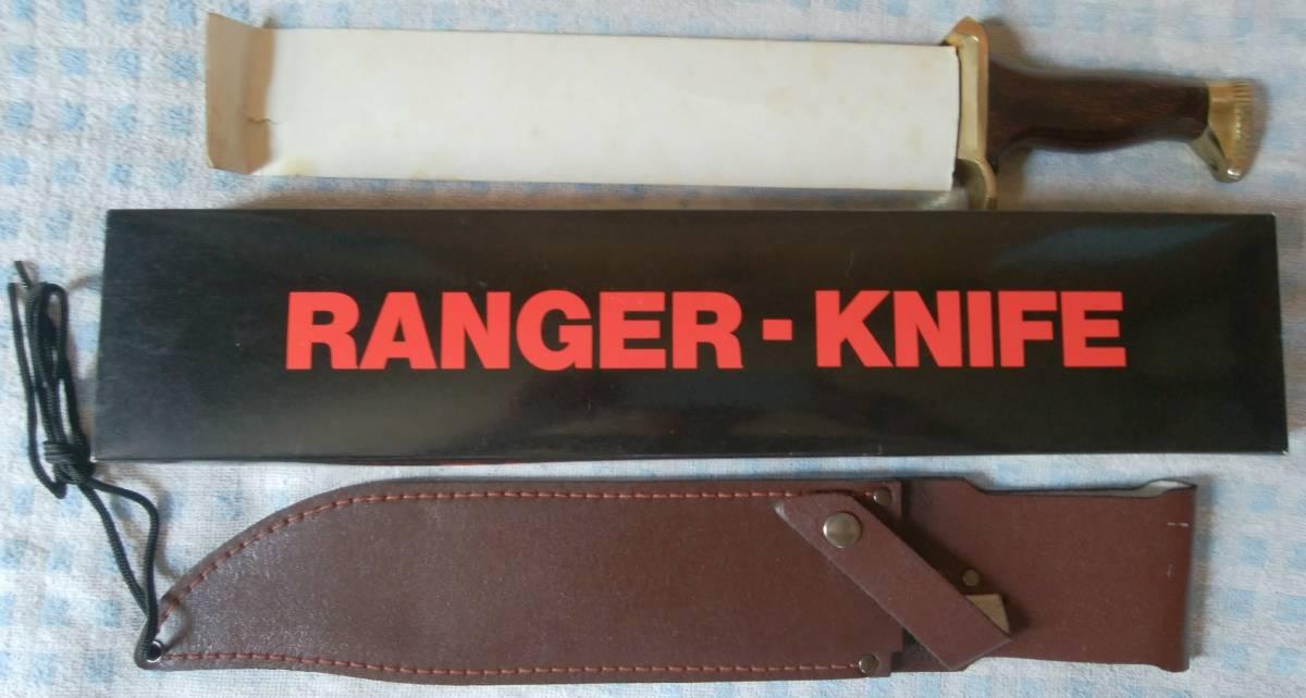 RANGER KNIFE [送料無料] レンジャー ナイフ / ALTPAPIER 1ST ROHSTOFF / サバイバル ナイフ アウトドア