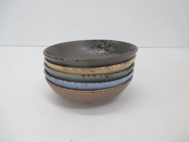 100☆iY★★美濃焼/志野焼・陶器製・小鉢5個セット・それぞれ色違い☆_画像7