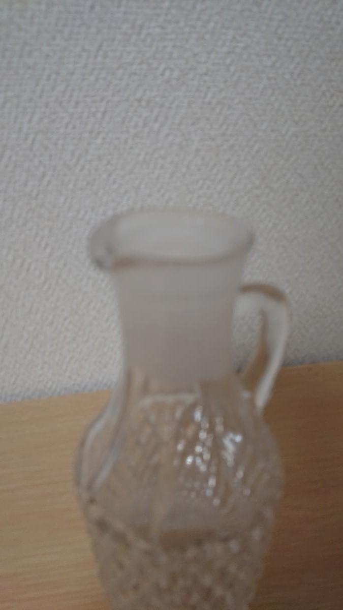 クリスタルガラス デキャンタ デカンタ ボヘミアン ウイスキー ブランデー バカラ風 水指し_画像2