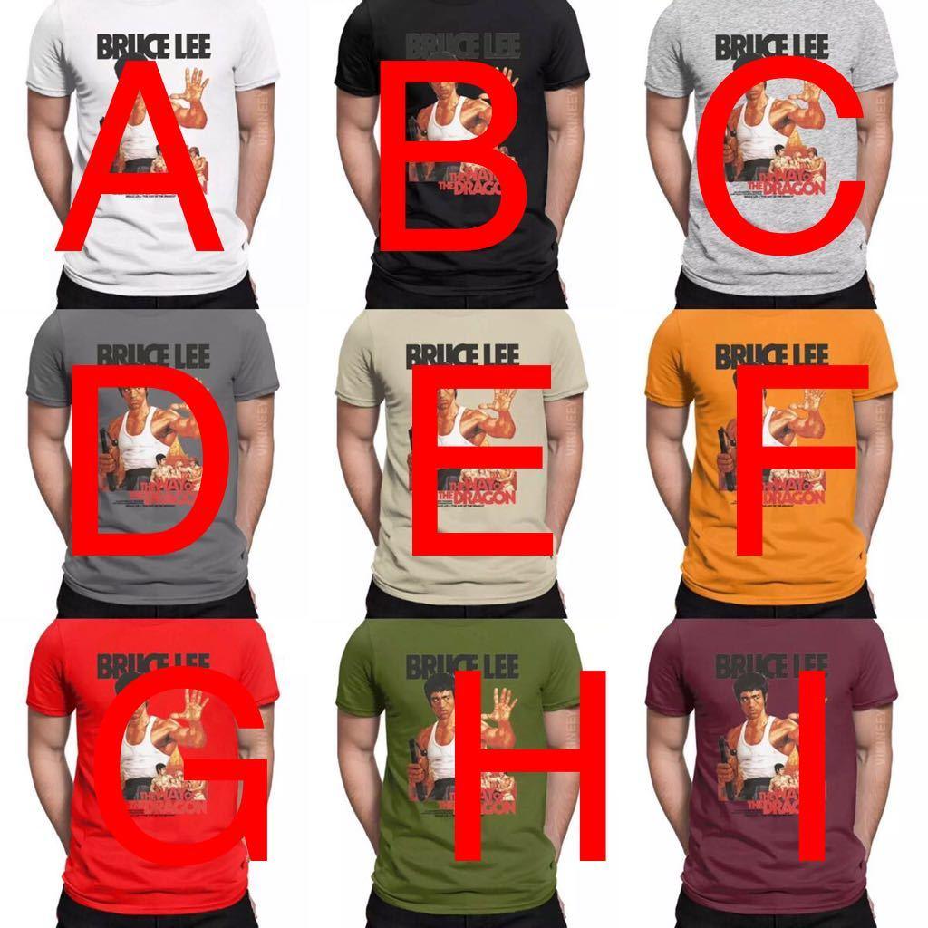 BRUCE LEE Tシャツ THE WAY OF THE DRAGON ブルースリー Tee ドラゴンへの道 李小龍_画像3