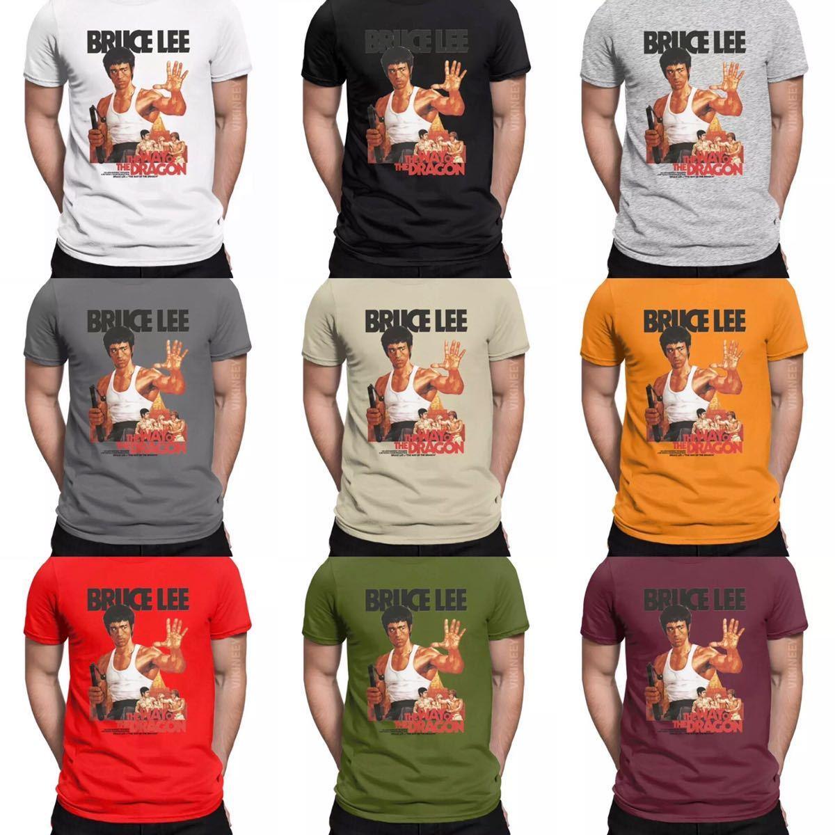 BRUCE LEE Tシャツ THE WAY OF THE DRAGON ブルースリー Tee ドラゴンへの道 李小龍_画像2