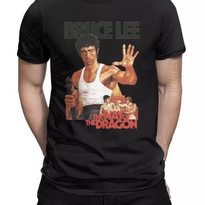 BRUCE LEE Tシャツ THE WAY OF THE DRAGON ブルースリー Tee ドラゴンへの道 李小龍_画像8