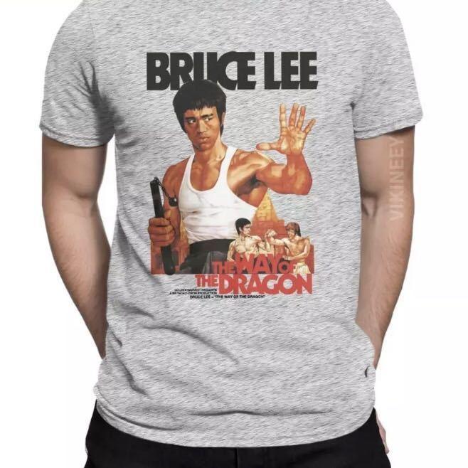 BRUCE LEE Tシャツ THE WAY OF THE DRAGON ブルースリー Tee ドラゴンへの道 李小龍_画像9