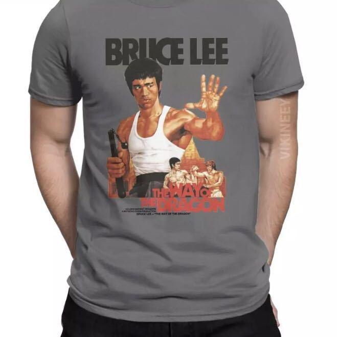 BRUCE LEE Tシャツ THE WAY OF THE DRAGON ブルースリー Tee ドラゴンへの道 李小龍_画像10