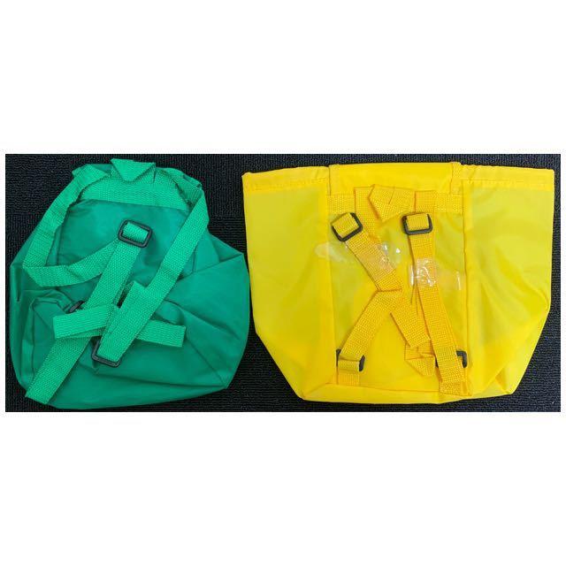 ◆ 非売品 当選品 懸賞品 新品 未使用 ◆ glico グリコ PRETZ プリッツ ミニリュック 2個セット バッグ 子供用_画像3
