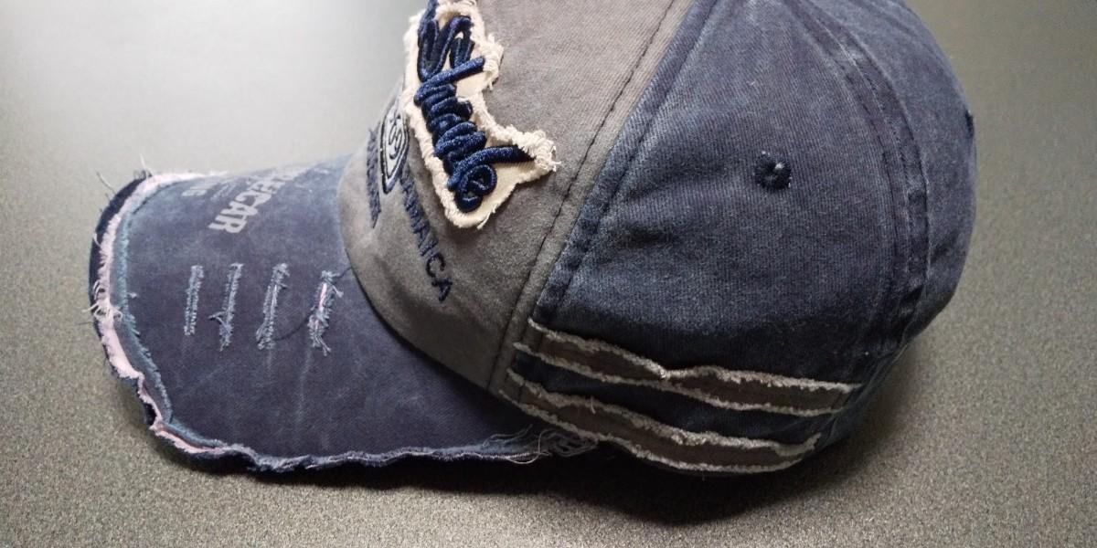 ★ダメージ加工♪USED風♪CAP帽子キャップ♪メンズレディース♪capC05♪