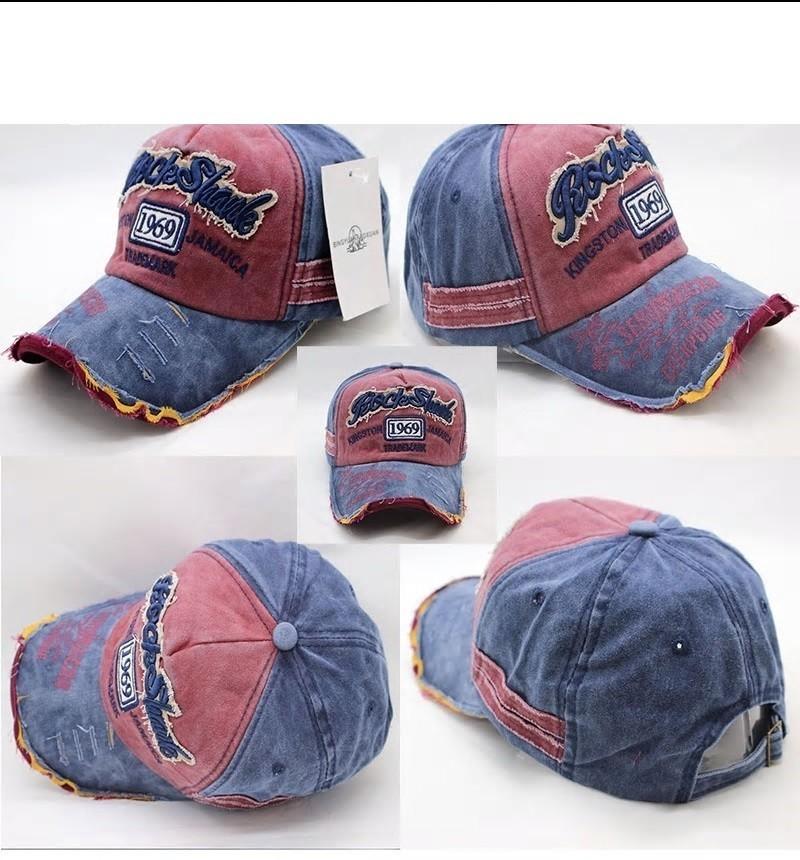 ★ダメージ加工♪USED風♪CAP帽子キャップ♪メンズレディース♪capC01