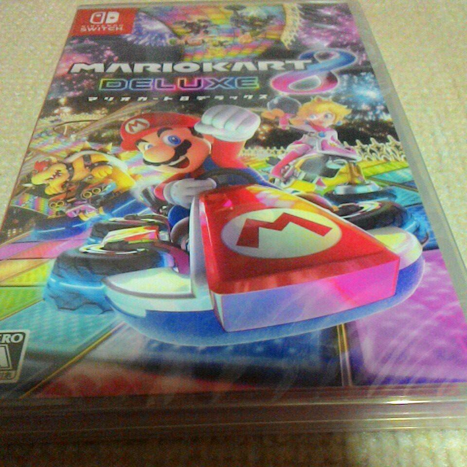 新品 未開封 マリオカート8デラックス Nintendo Switch