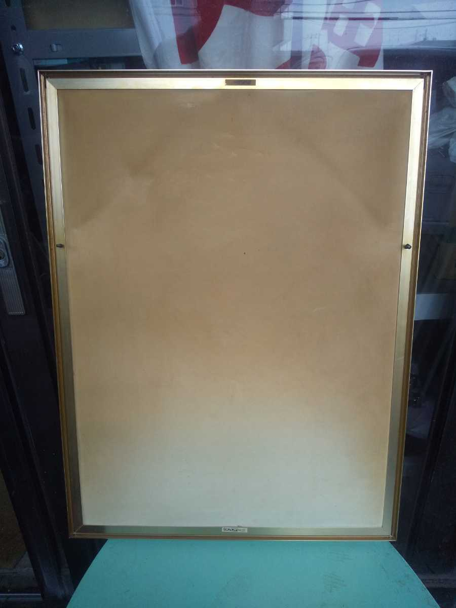 レトロ 歌麿 パブミラー アンティーク 鏡 美人画 浮世絵 アルテトラ製_画像4