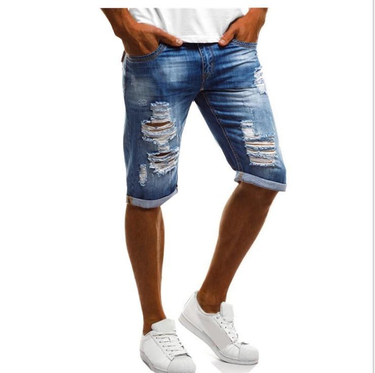 ショートパンツ メンズ デニム ハーフパンツ 短パン 半ズボン ジーンズ L