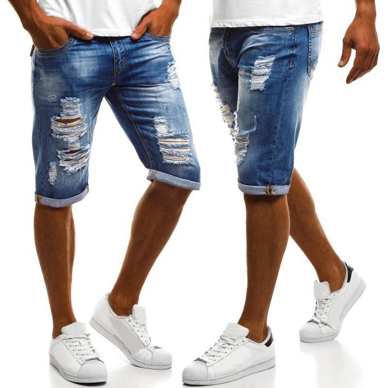 ショートパンツ メンズ デニム ハーフパンツ 短パン 半ズボン ジーンズ M