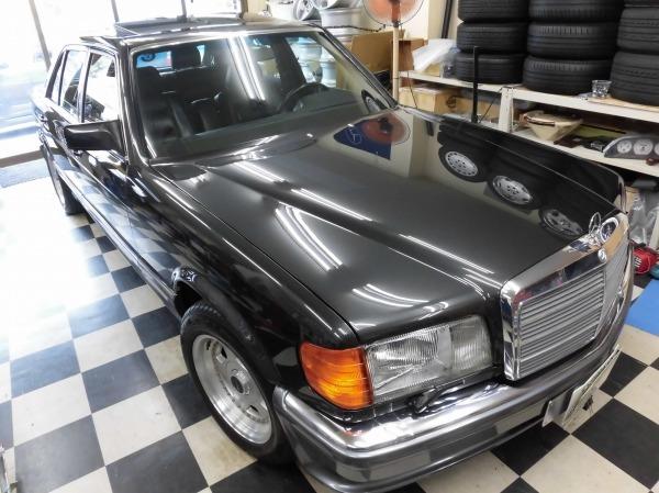 「W126 560SEL ロリンザーver 最終モデル レストア済み 」の画像2