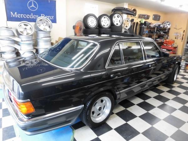 「W126 560SEL ロリンザーver 最終モデル レストア済み 」の画像3