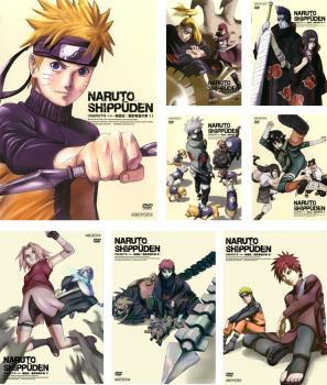 Naruto Naruto Wind Story Retaking Chapter 8 All 221-252 Rental Fall All Volumes Set Used DVD