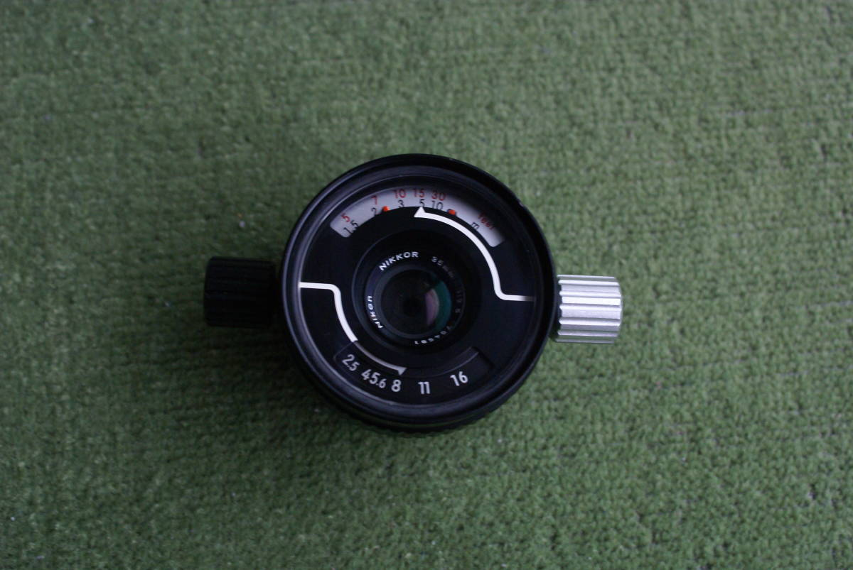 ニコノスV用 水中用レンズ UW-Nikkor 35mm、f-2.5 中古_画像1