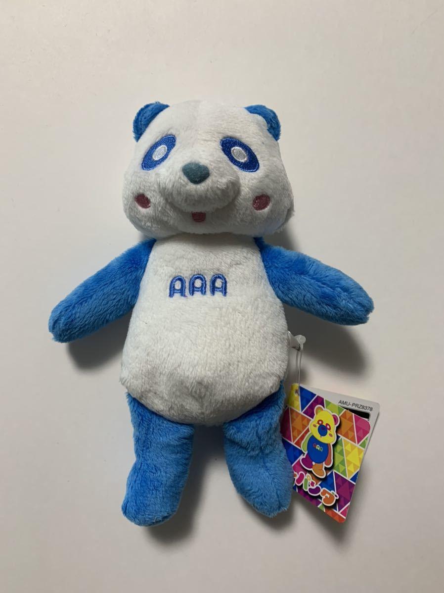 AAA え~パンダ アミューズメント景品 くったりぬいぐるみ ブルー 青 與真司郎 新品 未使用品_画像1