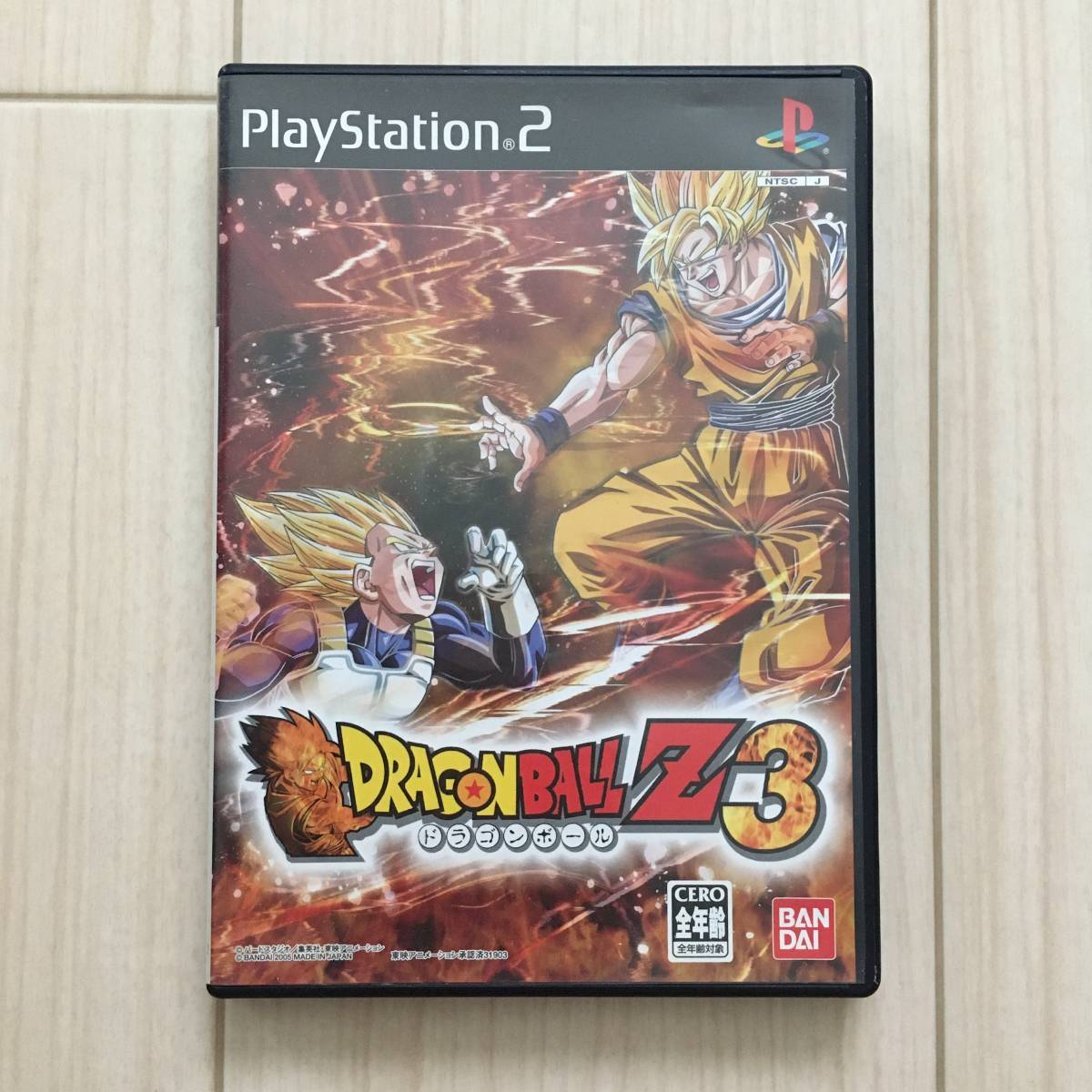 ドラゴンボールZ3 PS2ソフト プレステ2ソフト_画像1