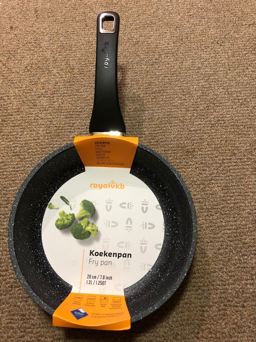 オランダのローヤルVKBのIH対応フライパン20cm