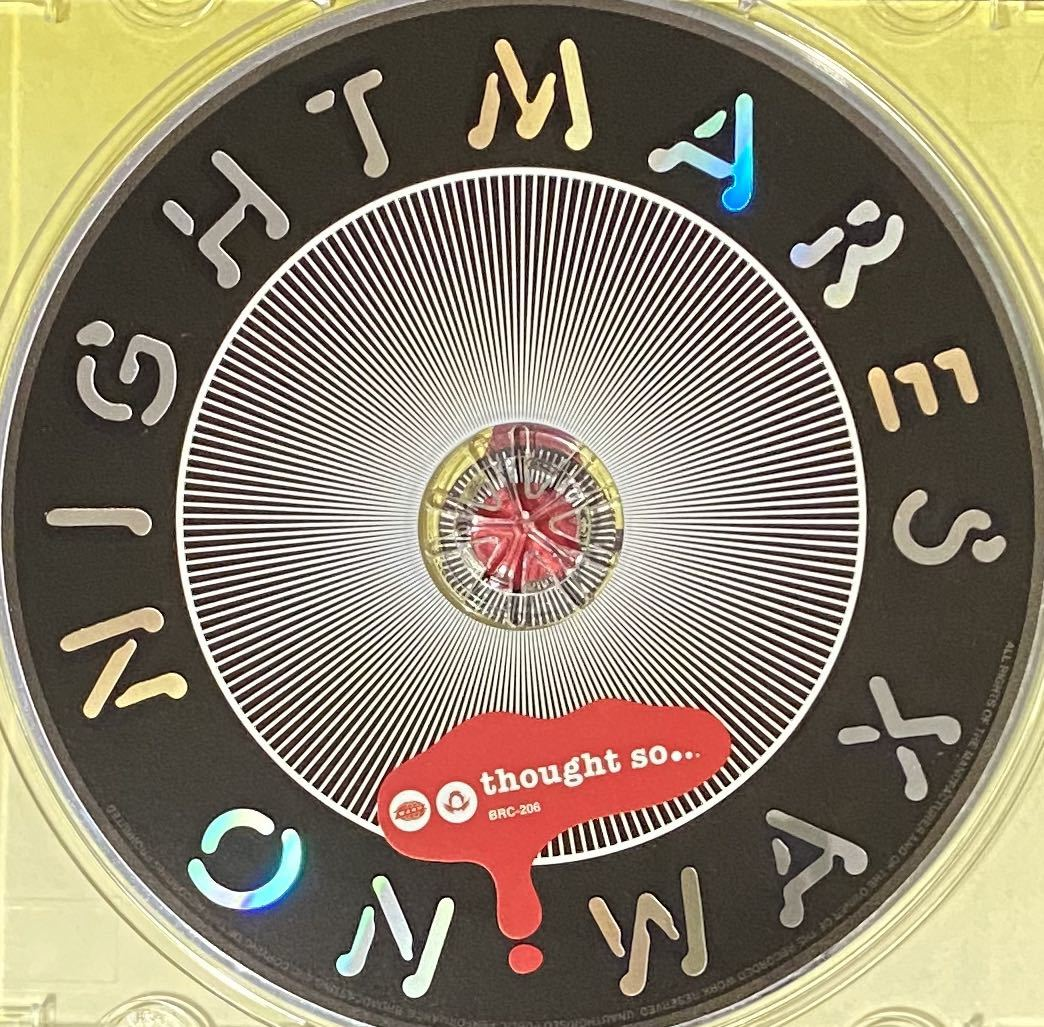 CD 輸入盤】NIGHTMARES ON WAX ナイトメアズ・オン・ワックス■Thought So■WARP■2008 名盤
