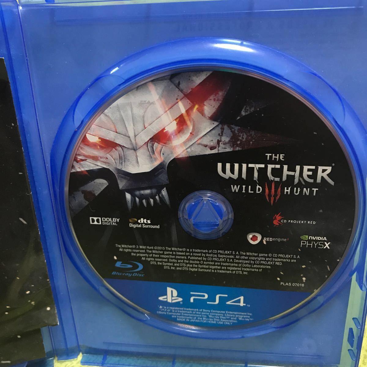 サウンドトラックCD付き!ウィッチャー3 witcher 3 PS4 中古