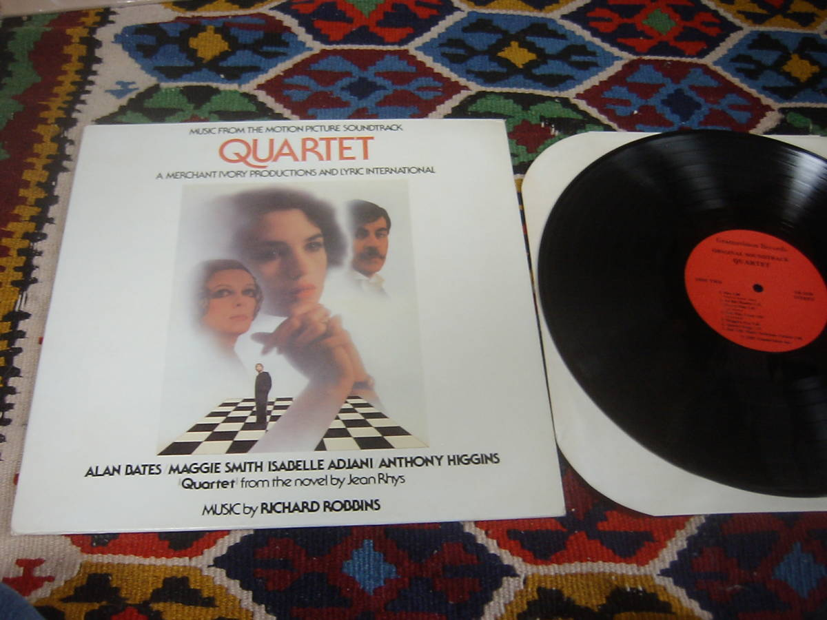 80's サントラ音楽 リチャード・ロビンス Richard Robbins (US盤LP)/Quartet (Music from the Motion Picture Soundtrack) GR1020 1981年_画像1