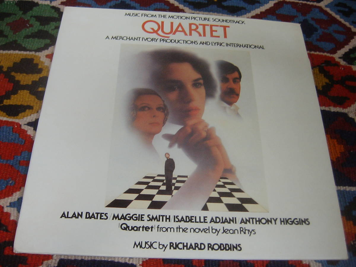 80's サントラ音楽 リチャード・ロビンス Richard Robbins (US盤LP)/Quartet (Music from the Motion Picture Soundtrack) GR1020 1981年_画像2