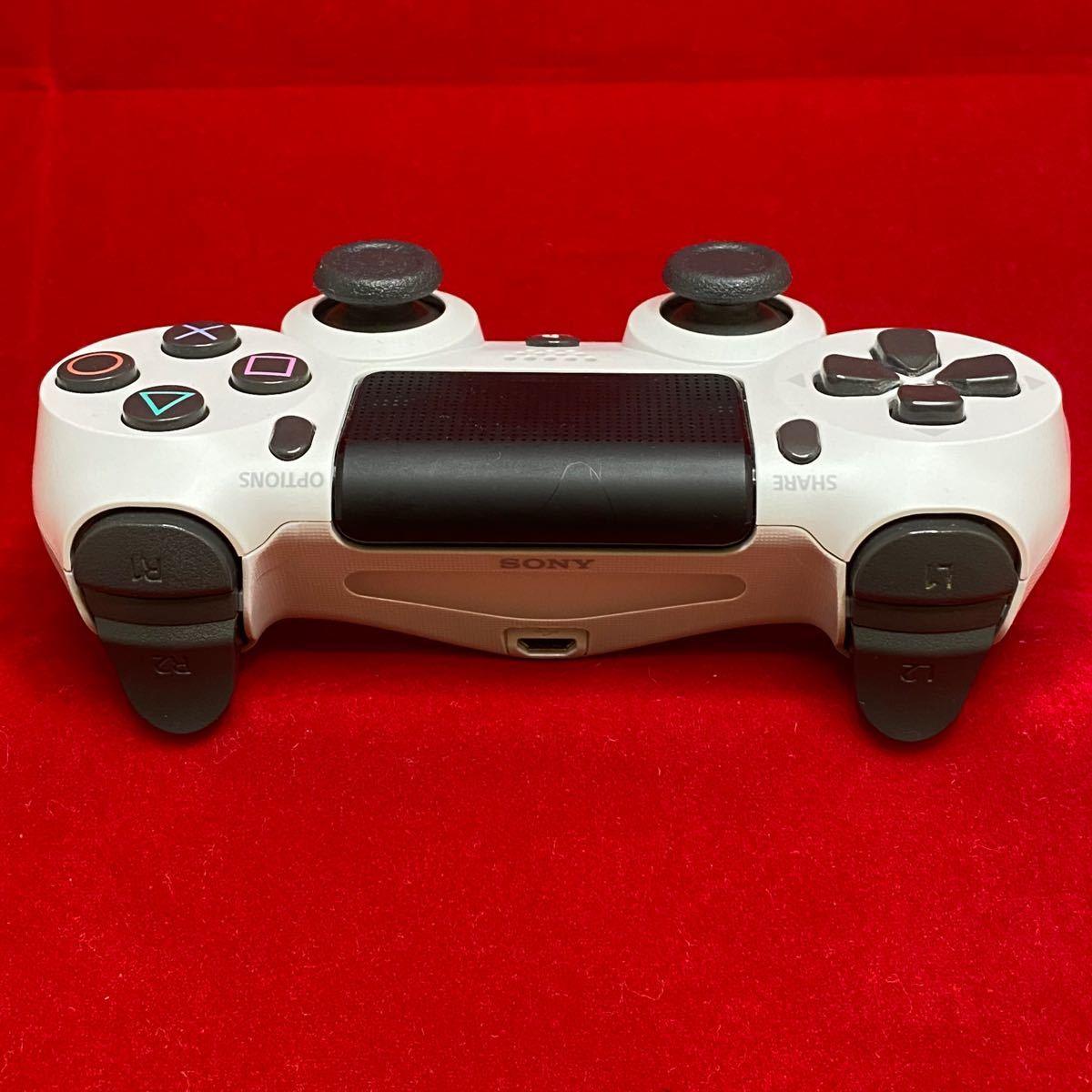 PS4 ワイヤレス コントローラー SONY デュアルショック4 ホワイト 白