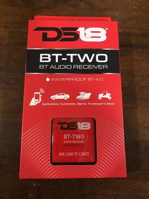 DS18 BT-2 Bluetooth 4.0 ブルートゥースレシーバー 防水仕様 スマートフォン対応_画像1