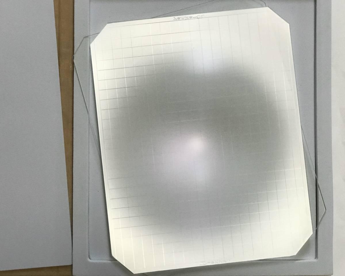 新品 8X10大判カメラ用スクリーン 明かりを増す_画像2