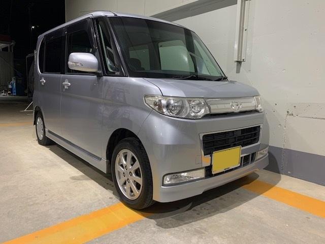 「平成20年10月 タント カスタムX 車検3年10月 スマートキー」の画像1