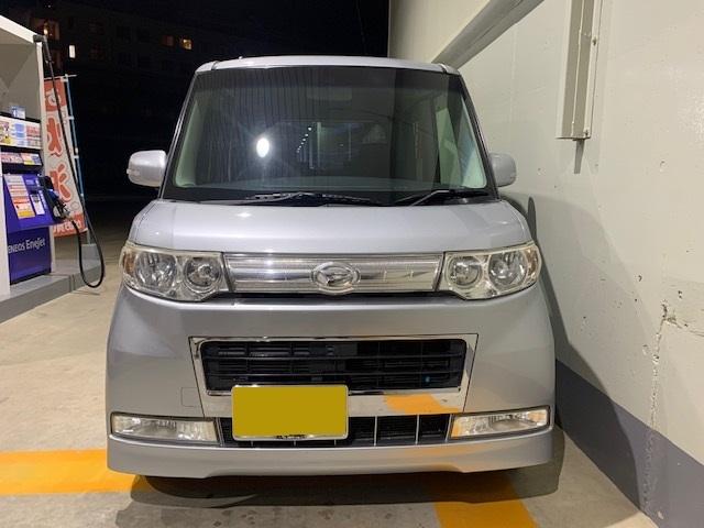 「平成20年10月 タント カスタムX 車検3年10月 スマートキー」の画像2