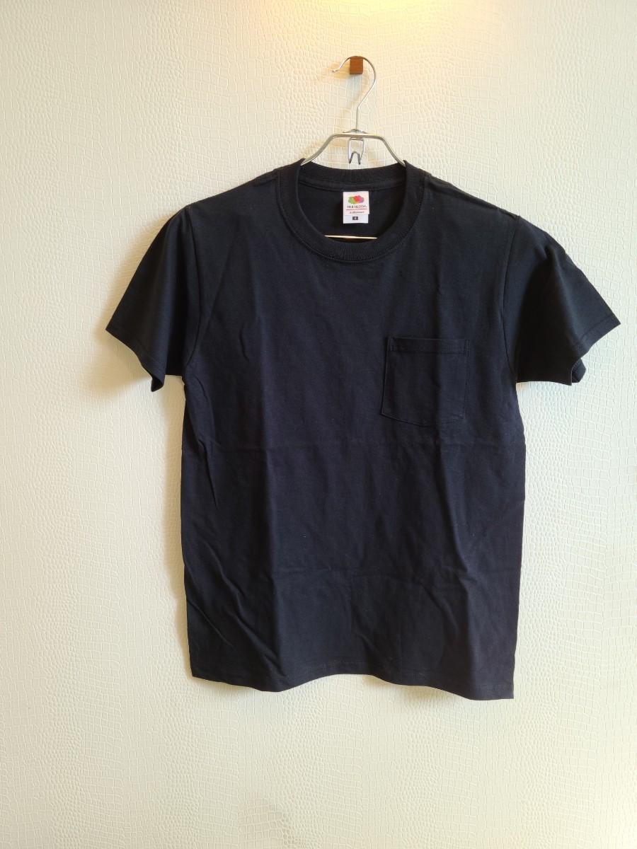 FRUIT OF THE LOOMのポケットTシャツ(B)