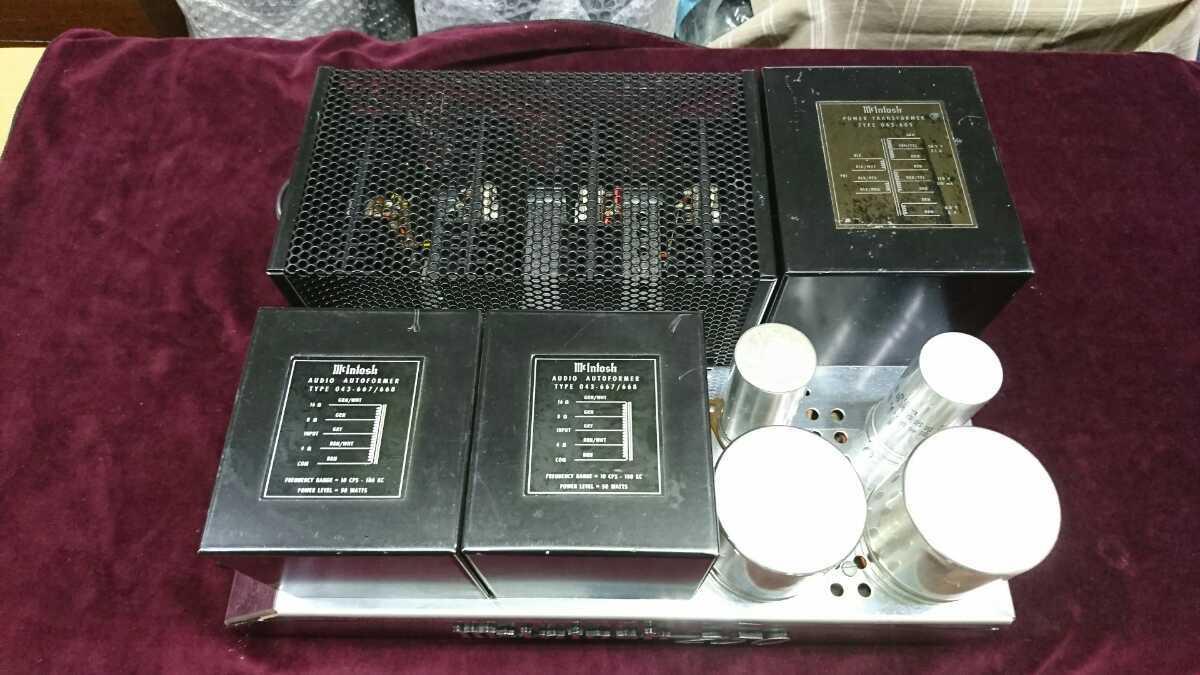 マッキントッシュパワーアンプMC250点検済み品音だし良好_画像6
