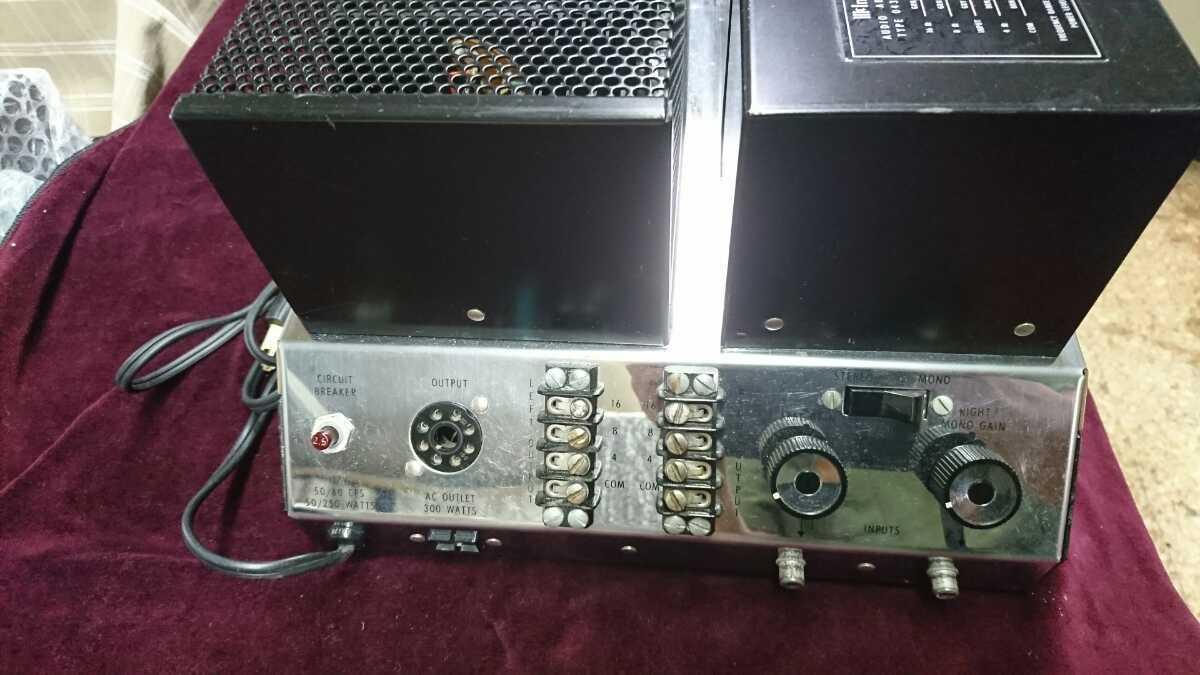 マッキントッシュパワーアンプMC250点検済み品音だし良好_画像8