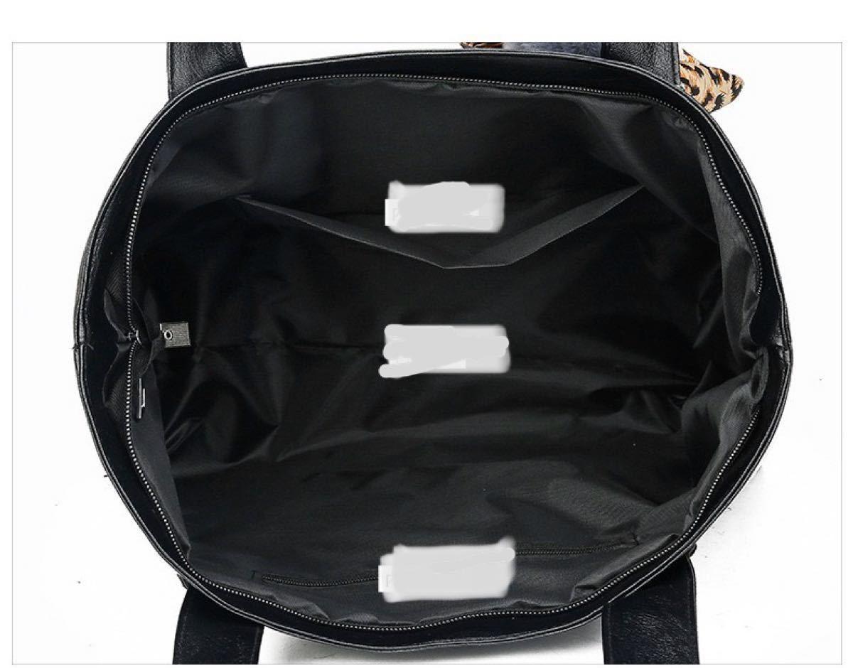 高品質革製 トートバッグ  シンプル 男女兼用 大容量 レザーバッグ 通勤通学