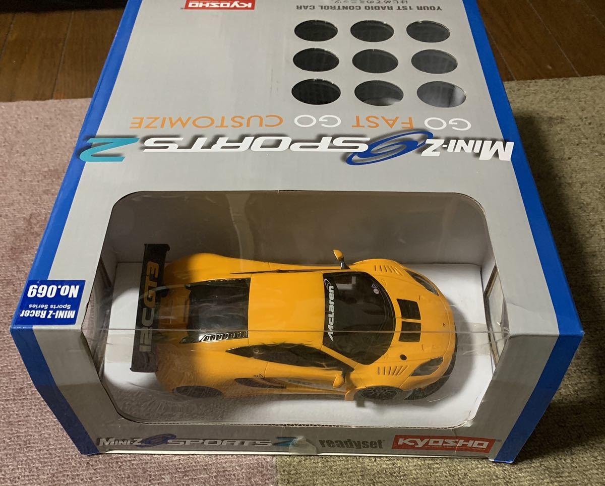 京商 ミニッツ スポーツ レディセット マクラーレン 12 C GT3 MINI-Z auto scale