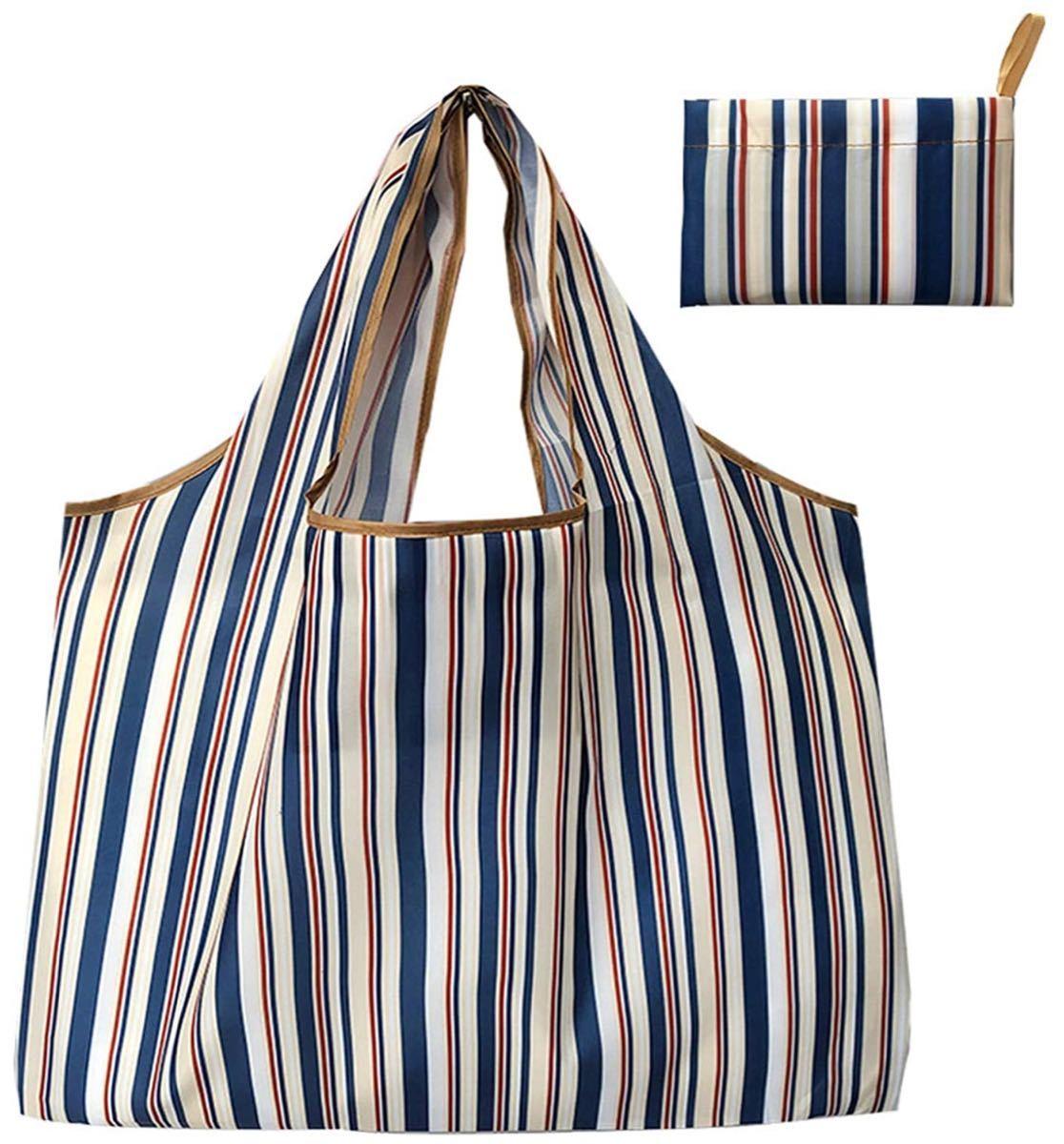 エコバッグ 折りたたみ 買い物袋 防水素材 大容量