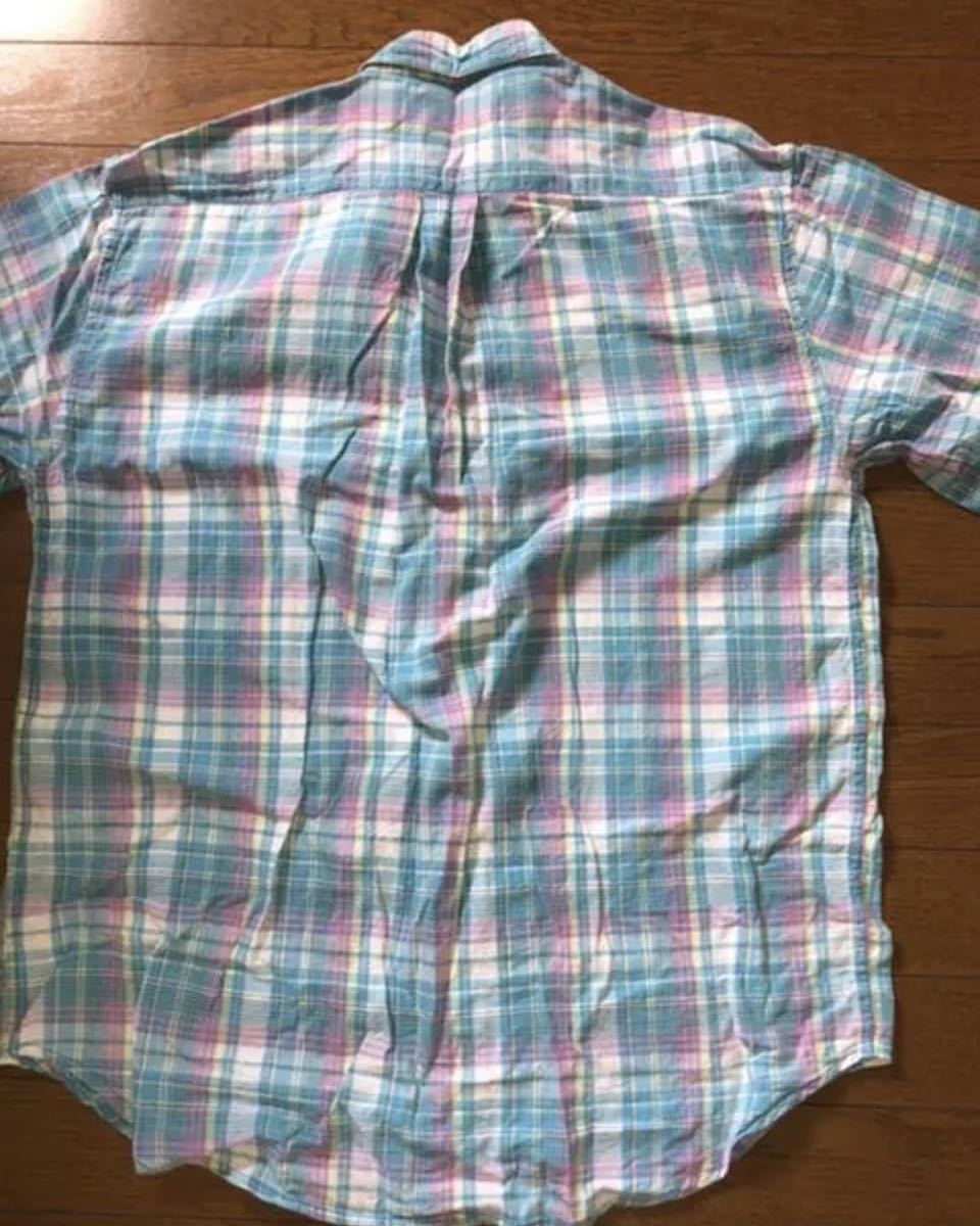 半袖シャツ チェックシャツ◆アメカジ◆ロック◆◆アロハ◆