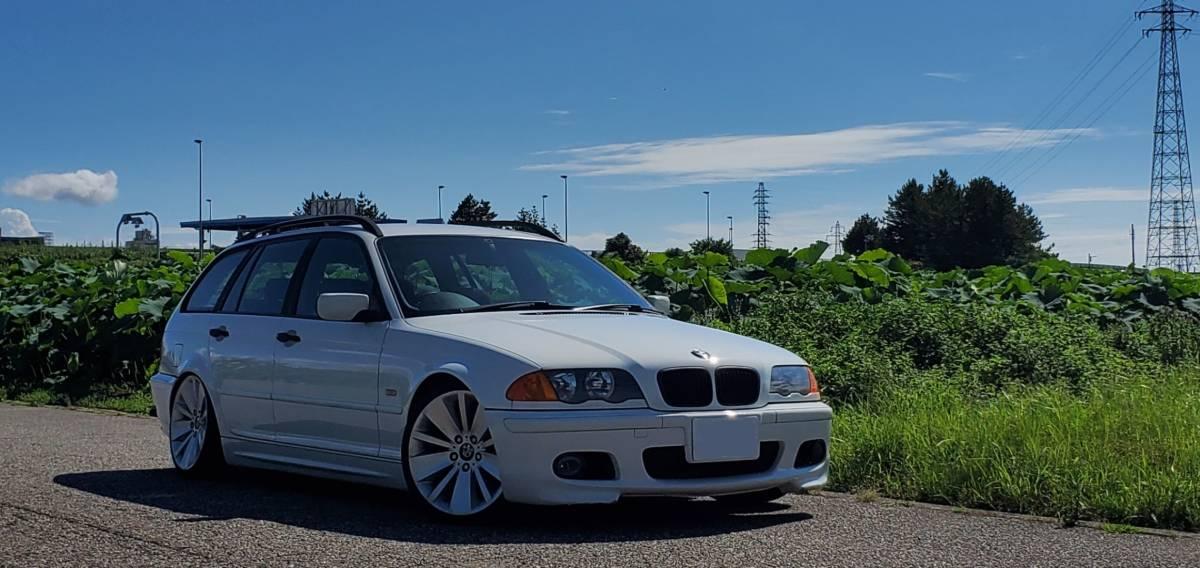 「BMW 318ツーリング スタンス エンジン載せ変え 値下げしました」の画像1