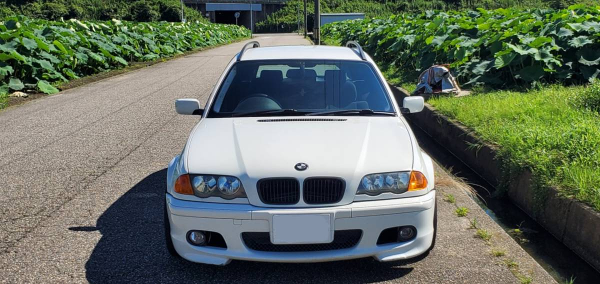 「BMW 318ツーリング スタンス エンジン載せ変え 値下げしました」の画像3