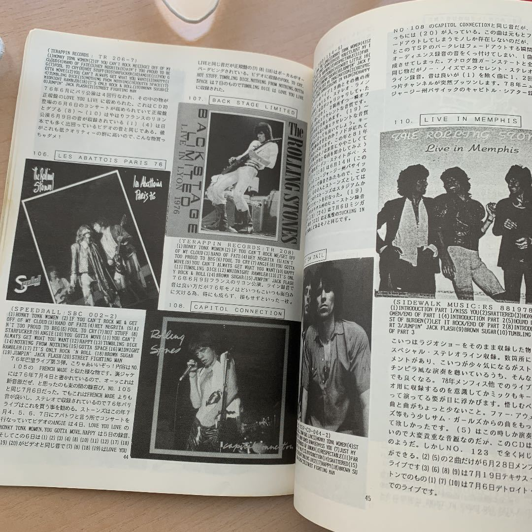 THE ROLLING STONES BOOTLEG GUIDE ローリングストーンズ ブートレグガイド_画像4