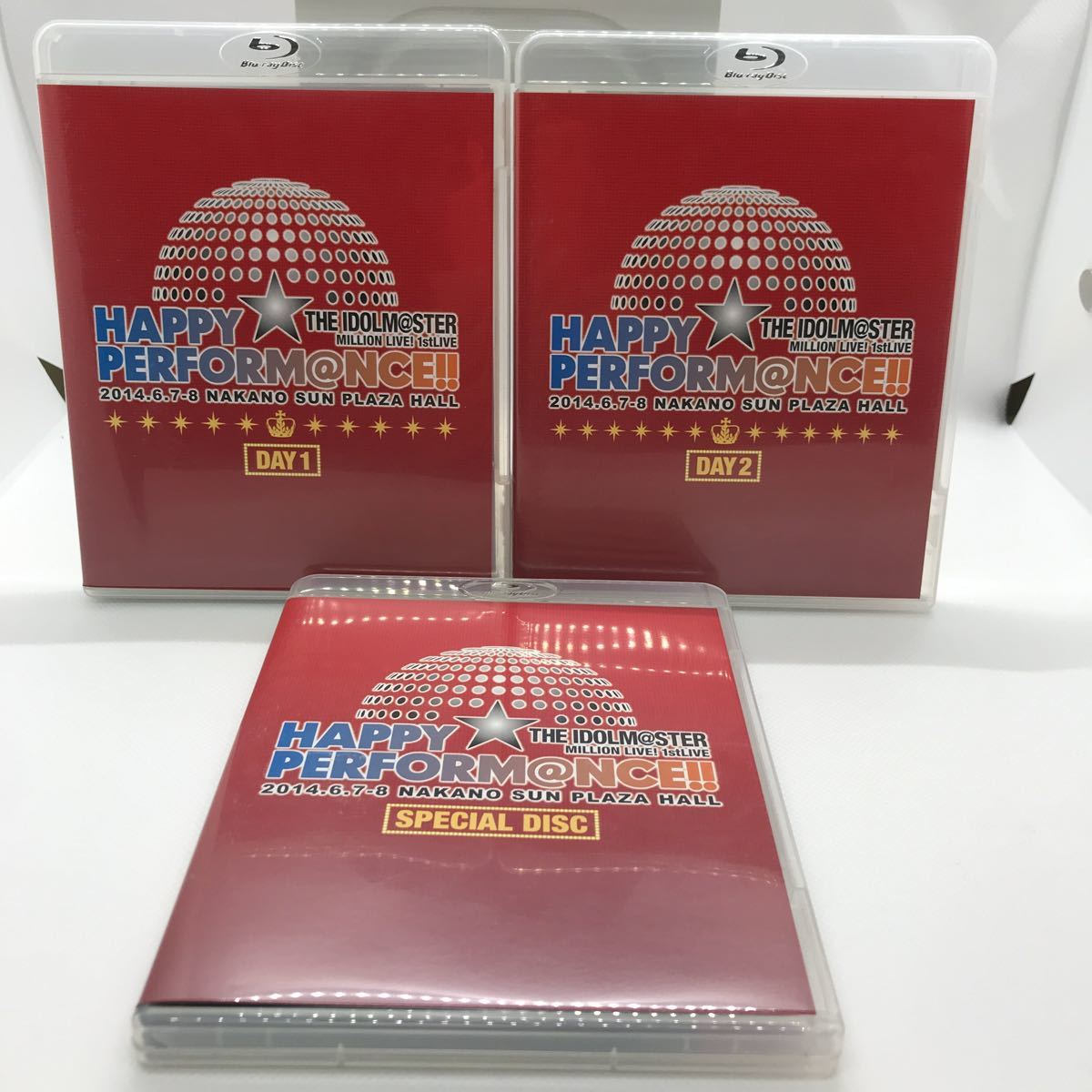 THE IDOLM@STER MILLION LIVE! 1stLIVE HAPPY☆PERFORM@NCE!! COMPLETE THE@TER Blu-ray5枚+CD_画像3