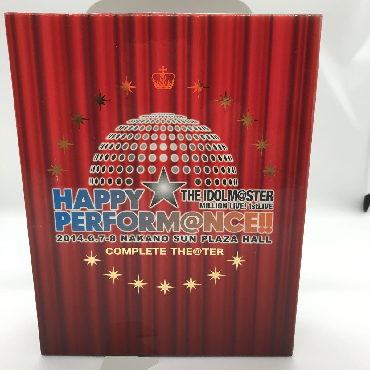 THE IDOLM@STER MILLION LIVE! 1stLIVE HAPPY☆PERFORM@NCE!! COMPLETE THE@TER Blu-ray5枚+CD_画像1
