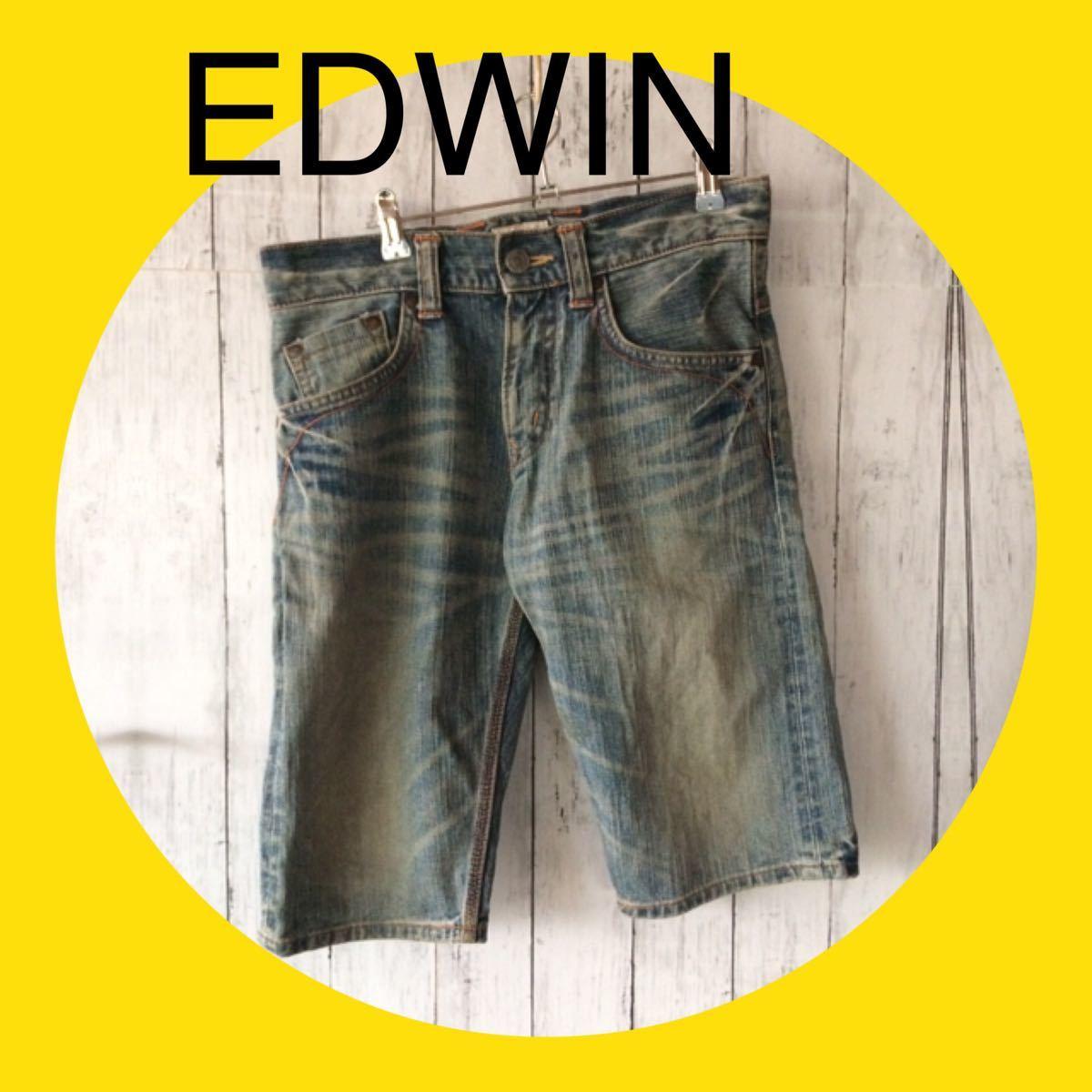 EDWIN エドウィン デニムパンツ ハーフパンツ