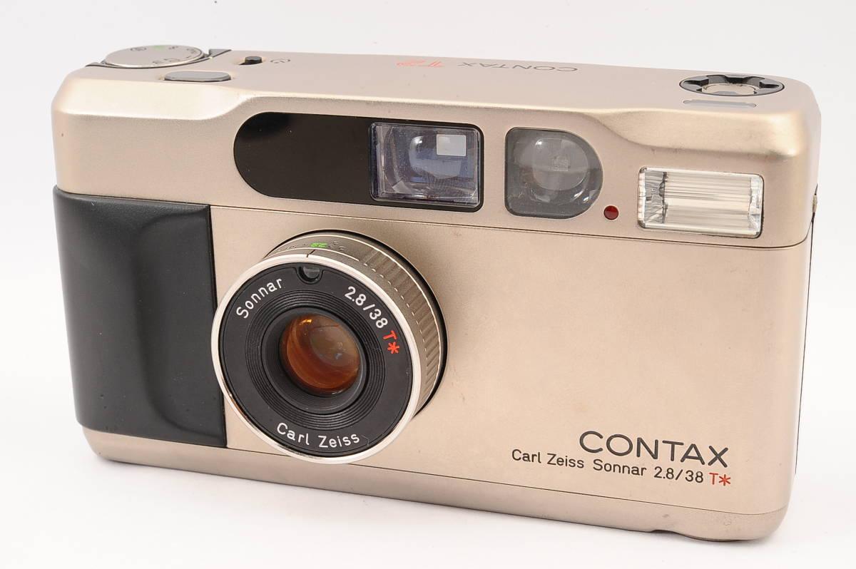 コンタックス CONTAX T2 ゾナー 38mm F2.8 T* コンパクトフィルムカメラ [197431]